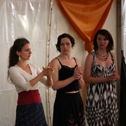 barefoot flamenco workshop in Sidmouth