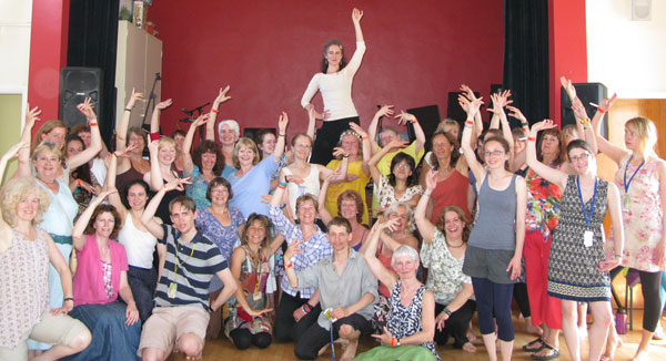 barefoot flamenco workshop in Sidmouth 2012