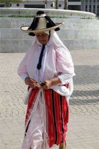 Tanger woman costume